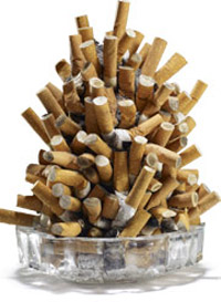 Se bruscamente è possibile smettere di fumare si riprenderà