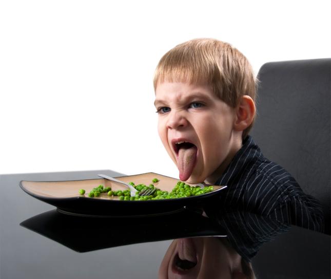 Bambini che rifiutano di mangiare fase normale o for Marchi di pasta da non mangiare