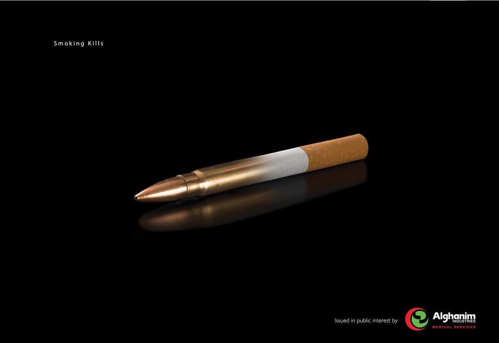 alghanim-cigarette-bullet-smoking-kills-champaign